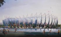本溪新城体育中心体育场