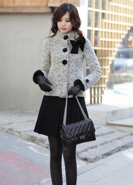 冬天衣服搭配图片;; 让你气质出众;
