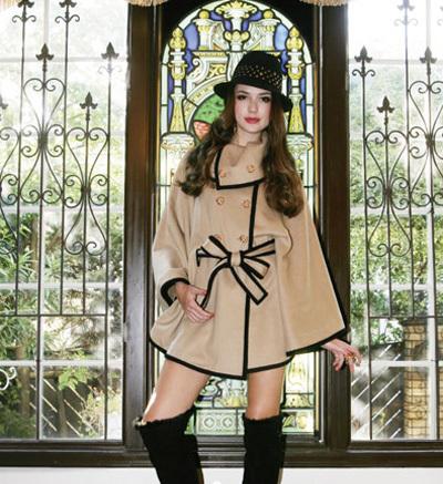 优雅成熟派代表单品驼色双排扣大衣