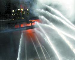 2011年716火灾现场