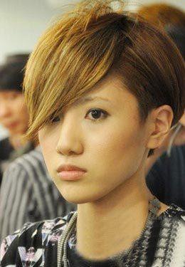 春节前大热6款短发欧美_v短发短发造型频道偏分女图片