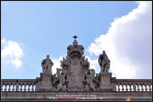战神保护下的王室徽章