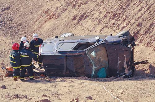 损毁的吉普车