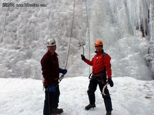 攀冰者与保护者