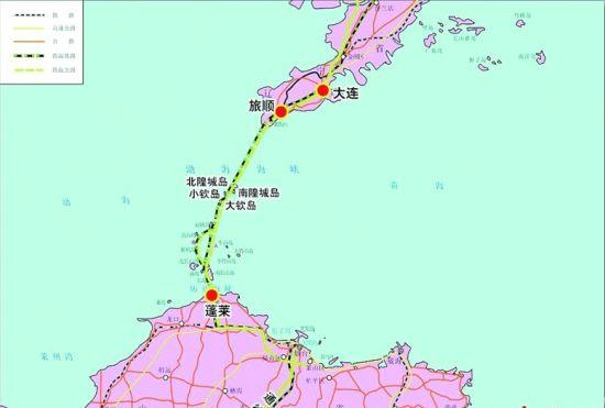 跨渤海海峡通道开始规划