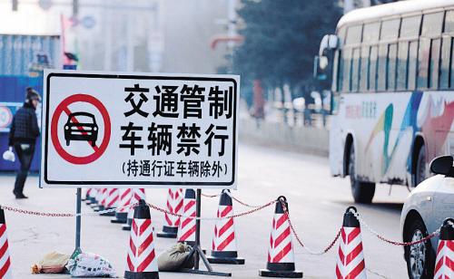 昨日施工管制路段已经不似前日般拥堵 摄影 常晟罡