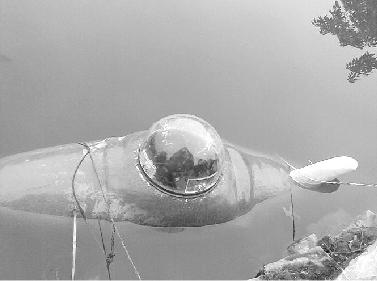 张五一研制的潜水艇 图片由受访者提供