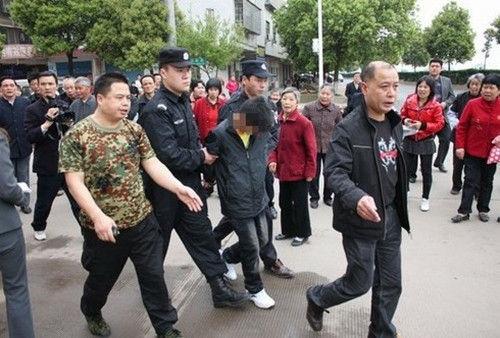12岁的犯罪嫌疑人10小时内被抓获归案 黄周生 摄