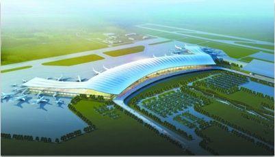 2011年动工的T3航站楼,由主楼和两个指廊构成,配备37个停机位和4.2万平方米的停车场。 桃仙机场供图