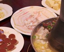 酸菜铜火锅
