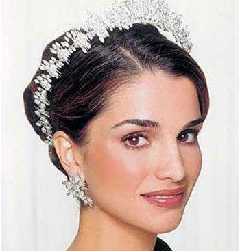 第一名:约旦王妃拉尼娅(约旦国王二世的妻子)