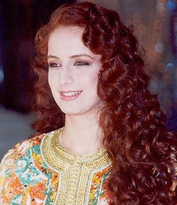 第二名:摩洛哥王妃萨尔玛(穆罕莫德六世妻子)