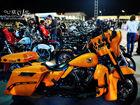 泰国狂野的摩托聚会