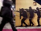 美国射击展览会的真枪实弹
