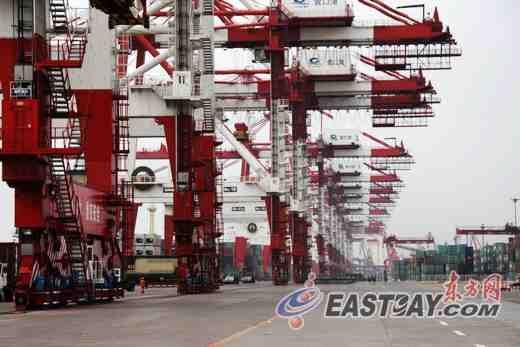 中国沿海十大港口之一的营口港