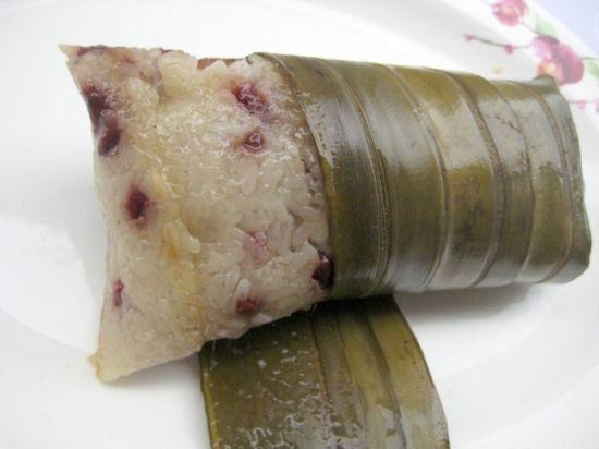 新浪旅游配图:不用粽叶包的粽子 摄影:小潺