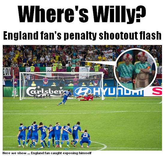 《太阳报》截屏:……在哪里?
