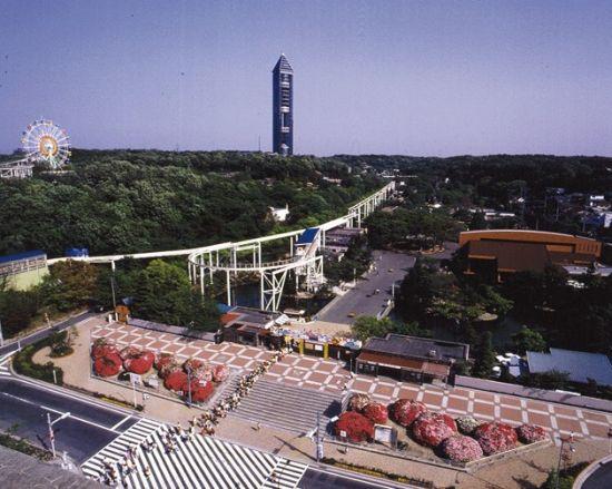 东山游乐园全景