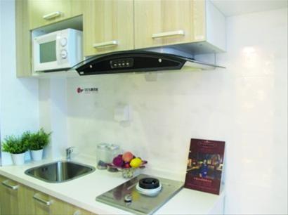 高标准的厨房设施。