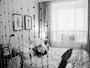 温馨的卧室。