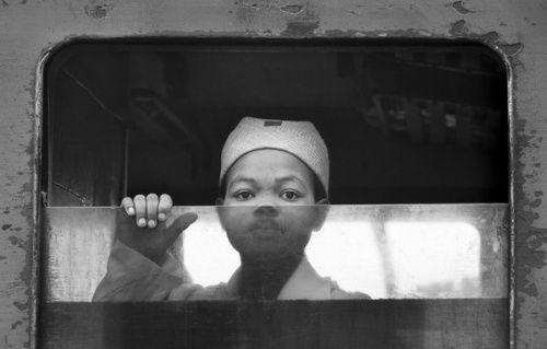 在马达加斯加乘火车