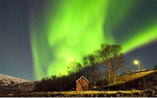 斯堪的纳维亚半岛北极光
