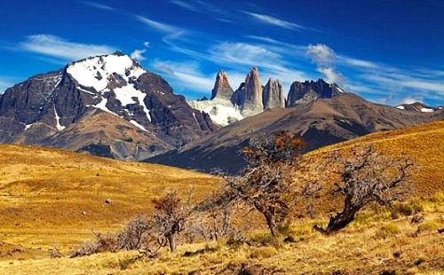 智利托雷斯德尔潘恩国家公园