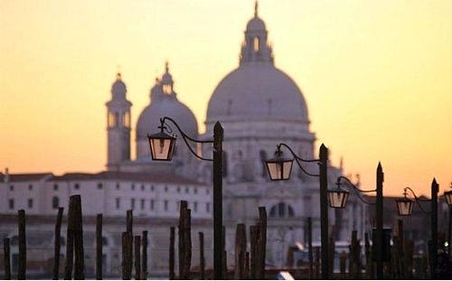 意大利威尼斯圣玛丽亚港市
