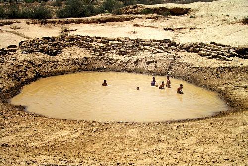 也门萨那的水塘