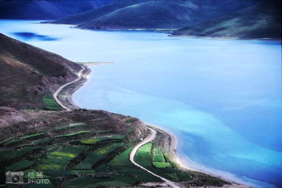 羊湖之美,让人震撼