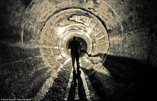 纽约下水管道