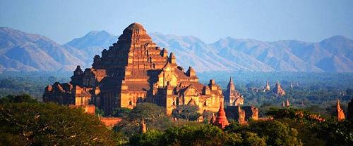 神秘的缅甸