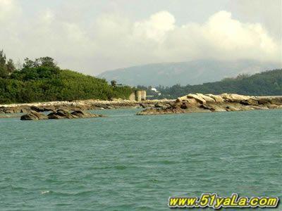 丹东菩萨庙镇小岛