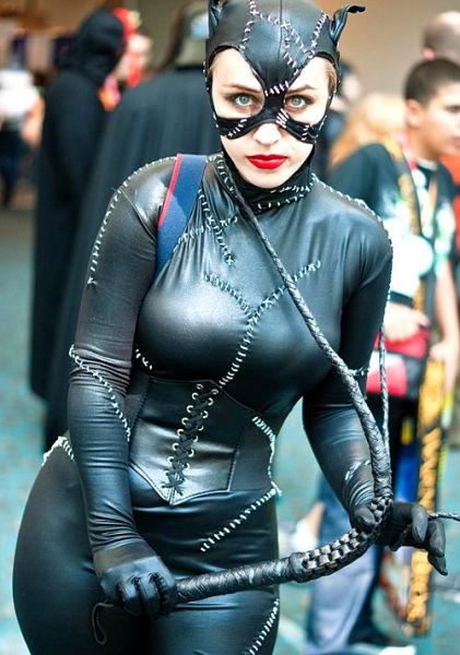 蝙蝠侠里的猫女