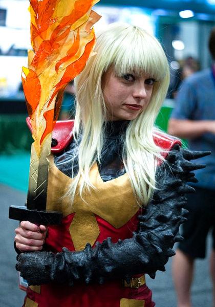2012美国Comic-con国际动漫展上的cosplay美女