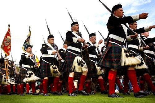 英国皇家高地运动会仪仗队
