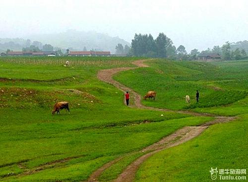 """被誉为""""北方的香格里拉""""的鸭绿江村"""