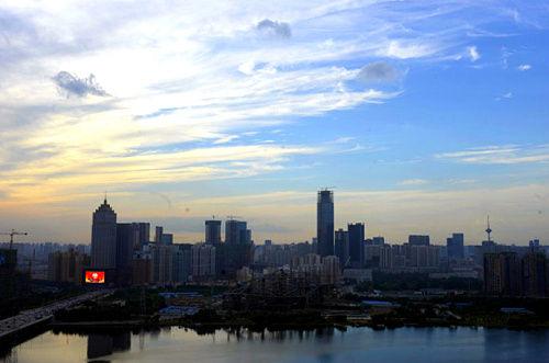 浑河北岸景观