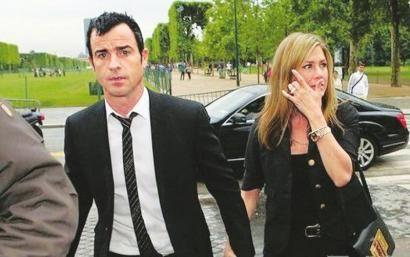 詹妮弗-安妮斯顿和未婚夫