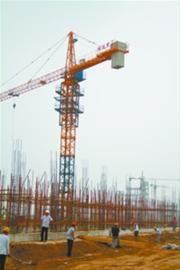 氟化工基地项目建设现场。