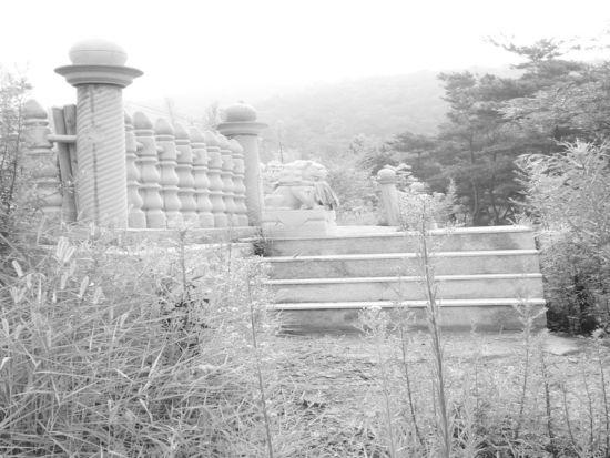 豪华陵墓。