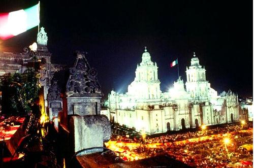 厄尔尼诺索卡洛,墨西哥市