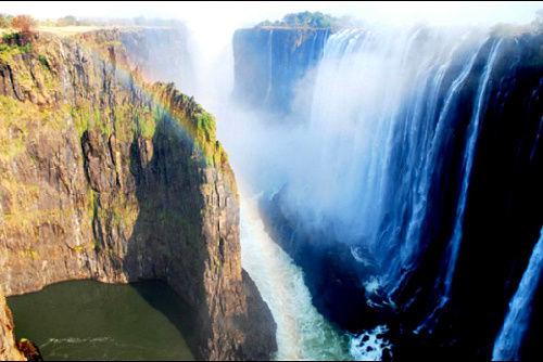 津巴布韦的维多利亚大瀑布,阿伯克龙比和肯特旅游