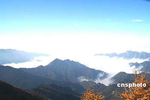 太白山 图片来源:中国新闻网