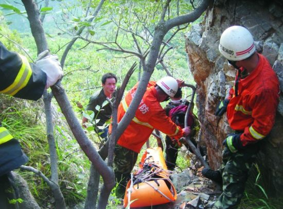 被发现时,伤者已经昏迷。