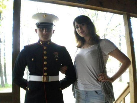 科里-吉尔戈尔和妻子布里特尼2010年的照片。