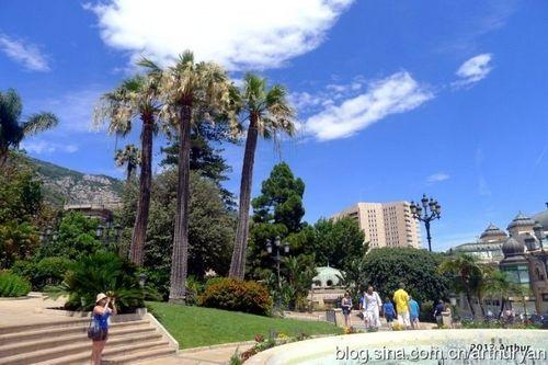 摩纳哥,一个碧海蓝天下的小小国度