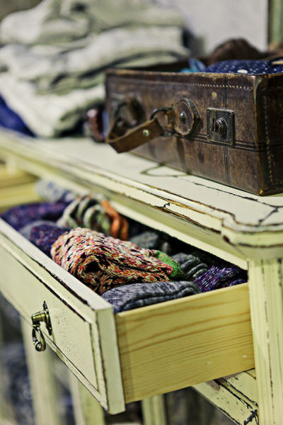 复古的摆设和家具