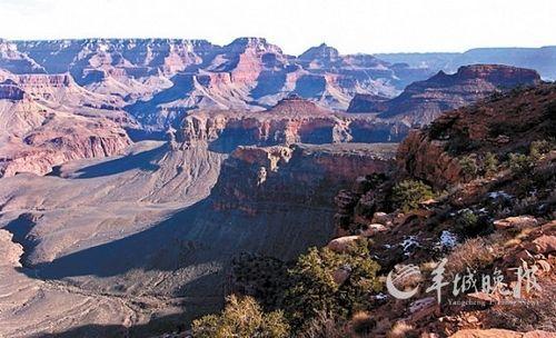 世界著名自然奇观科罗拉多大峡谷 新华社/路透
