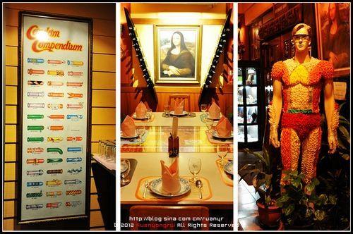 新浪旅游配图:泰国避孕套餐厅 摄影:阮导